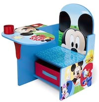Mickey Mouse chair table with storage bin Poway, 92064
