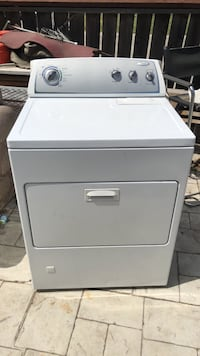 White front-load clothes washer Stockton, 95206