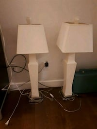 PAIR OF TALL CLASSY LAMPS 3724 km