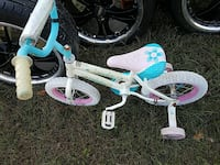 children's white bike with training wheels Woodbridge, 22193