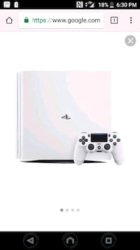 white Sony PS4 console with controller Stephens City, 22655