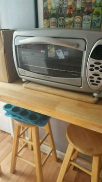 Large countertop toaster oven