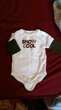 Gymboree long sleeve onsie size 0-3 months Whitby, L1N 3C7