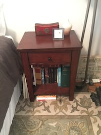 POTTERY BARN VALENCIA NIGHTSTAND WITH STORAGE DRAWER New York