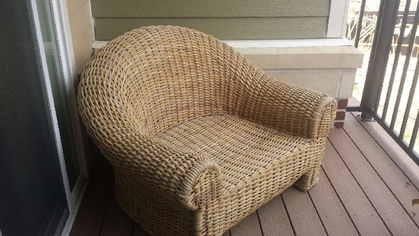 Clic Oversized Rattan Chair
