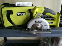 But Never used Ryobi circular saw with bag McMinnville, 97128