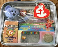 Ty beanie baby platinum collector's edition
