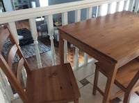 brown wooden table with chair Duluth, 30096