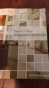 Dental administration textbook  Mississauga, L5B