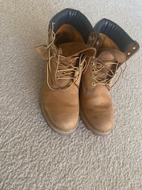 Mens Used Wheat Timberland Boot Size 11 Falls Church, 22041
