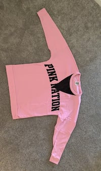 PinkNation Mesh Sweatshirt