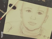pencil drawing of a baby's face Kocaeli, 41400
