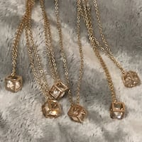 Wholesale 18K necklace with pendant 6x  Mississauga, L5M 4E1