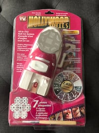 All in one Nail Art System by HOLLYWOOD NAILS Montréal