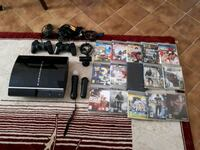 Playstation 3 full set + 15 oyun 8737 km