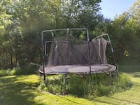 Trampoline with enclosure Blooming Grove, 10914