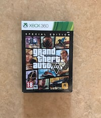 Grand Theft Auto Five Xbox 360 spelväska Solna, 169 70