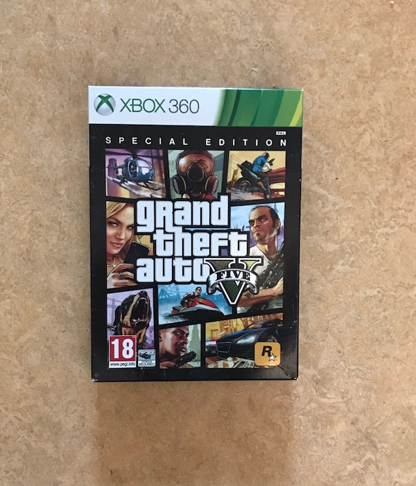Grand Theft Auto Five Xbox 360 spelväska