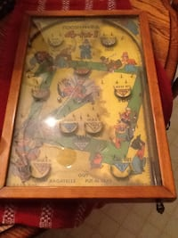 1930s wood pinball game  Dover, 17315