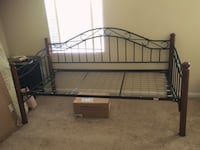 Metal and wood daybed for sale