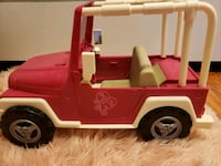 American girl camper and jeep Las Vegas, 89108