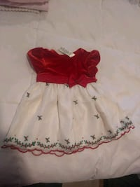 Baby girl Christmas dress, size 3-6 months Sioux Falls, 57103