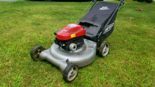 Craftsman Push Lawn Mower With Grass Bag Bagger