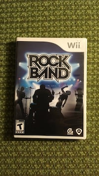 Rock Band Nintendo Wii game case New Westminster, V3M 5X4