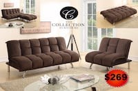 brown fabric sofa set with throw pillows Hollywood, 33020