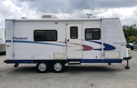 2006' 23ft , Pioneer  Travel trailer sleeps for who is talking to