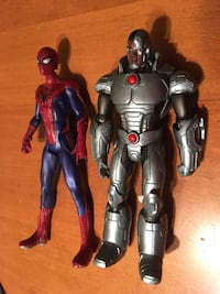 Action figures Spider-Man and cyborg Niagara Falls, L2H 1X1