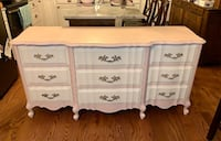 Petal Pink / Antique white French Provincial Petal Pink dressers Kensington, 20895