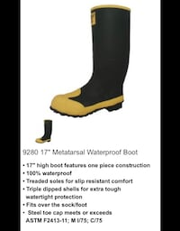 New water / concrete work boots Omaha, 68127