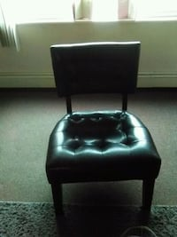 Black leather chair for sale.  Sharon, 16146