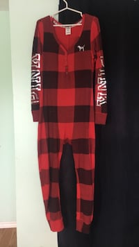 Red and black onesie (large)