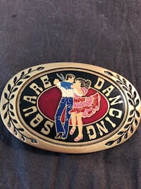 just reduced!!!  BELT BUCKLES OF SQUARE DANCING AND NASHVILLE FOR 1 PRICE Jacksonville