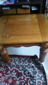 2nd wooden tables asking 80for both  Sterling