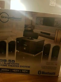 black and gray home theater system box Kamloops, V2B 7M8