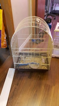 white metal wire pet cage HALIFAX