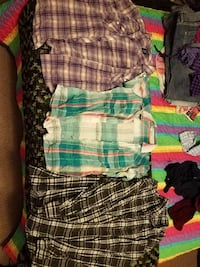 women's assorted clothes (middle shirt sold)