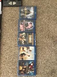 109 DVD movies = 5 BlueRay 104 DVDs including 2nd season Game of Thrones. Santa Clarita, 91321