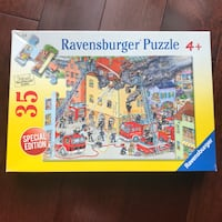 Ravensburger Firefighters Puzzle Age 4+ Hoboken