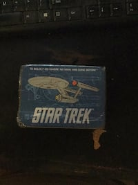 Vintage 1992 Star Trek Playing Cards In Tin Box Providence