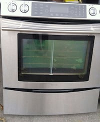 gray and black induction range oven Whitchurch-Stouffville, L4A 0L7