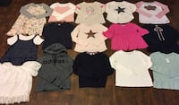 New and used once sz 14 you girl lot 10-11 yr old Mint shape/ 20 pcs $90firm Edmonton, T5W 0P8