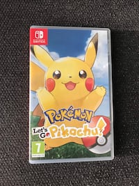 Pokemon Let's Go Pikachu - Nintendo Switch Esenyurt, 34515