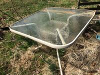Glass top outdoor patio table Westminster, 21157