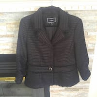 Le Chateau Dress jacket L size Edmonton