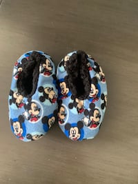 Mickey Mouse Toddler Boy Sleepers -- Size 6-7