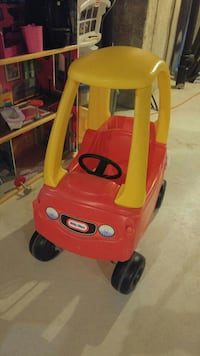 children's red and yellow Little-Tikes Couzy Coupe Whitchurch-Stouffville, L4A 0R4
